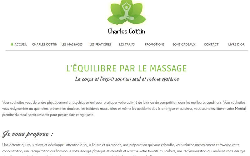equilibre massage site internet