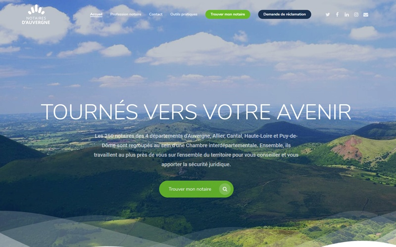 Les notaires d'Auvergne
